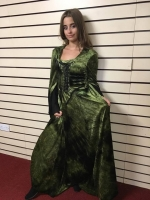 Ladies Halloween Swamp Queen Hire Costume
