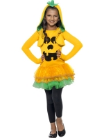 Girls Halloween Pumpkin Tutu dress