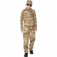 Desert Army Boy Costume