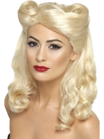 1940's Blonde Pin Up Wig