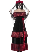 Ladies Halloween Costume day of the dead bride