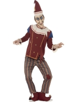 Mens Halloween Possessed Punch Puppet Costume