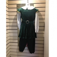Mens Historical Green Lord Hire Costume