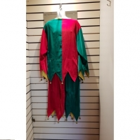 Mens / Ladies Christmas Jingle Jester Hire Costume