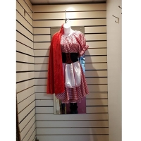 Ladies Red Riding Hood Hire Costume