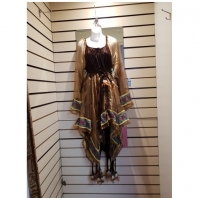 Ladies Deluxe Feather Indian Hire Costume