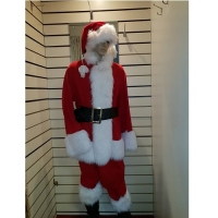 Mens Father Christmas Santa Hire Costume
