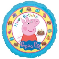 Peppa pig party table cover decoration