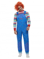 Mens  Chucky Horror Fancy Dress Costume with print