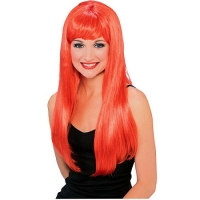 Halloween Red Glamour Wig