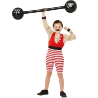 Deluxe Strong Boy Greatest Show Fancy Dress Costume