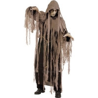 Mens Halloween Zombie Nightmare Fancy Dress Costume
