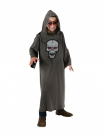 Kids Unisex Skull Robe Costume