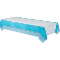 Religious Occasions Communion Blessings Blue Plastic Tablecover