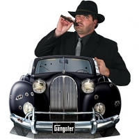 1920s Gangster Car Photo Booth Photo Prop Party Decoration's Accessory