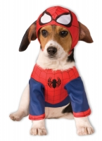 Fancy Dress animal spider man dog costume