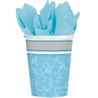 Communion Blessings Reglious Occasions Blue Paper Cups 266ml