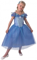 Girls Cinderella princess fancy dress costume