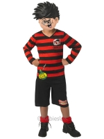 Boys Dennis The Menace Fun Fancy Dress Costume