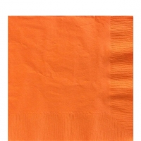 50 Pack Orange Peel Luncheon Napkins 33cm Square 2ply Paper
