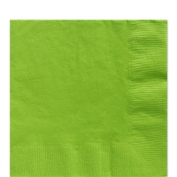 50 Pack Kiwi Green Luncheon Napkins 33cm Square 2ply Paper