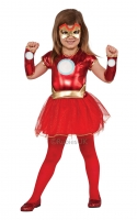 Girls Super Hero Ironman Costume