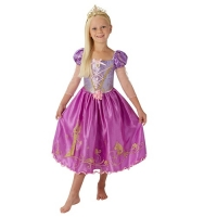 Official Disney Princess Rapunzel Girls Deluxe Fancy Dress Costume