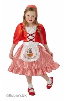 Girls Little Red Riding Hood Book Week Fancy Dress Costume