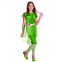 DC Super Hero Girl's Deluxe Poison Ivy Fancy Dress Costume