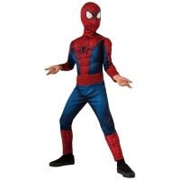 Boys Marvel Avengers Ultimate Spiderman Superhero Fancy Dress Costume