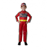 Deluxe Racing McQueen Cars 3 Boys Childrens Fancy Dress Costume