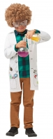 Crazy Mad Scientist Boys /Girls Childrens Fancy Dress Costume