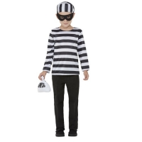 Childrens Boys Police Occupational Fancy Dress Costume