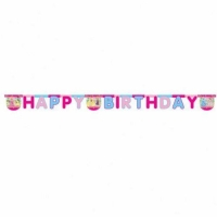 Disney Princess party letter banner 2m long