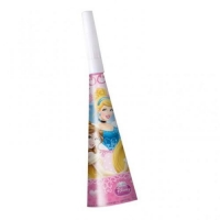 Disney Princess party horns pack of 6
