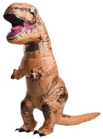 Adult Inflatable Official Jurassic World T-Rex/ Dinosaur Fancy Dress Costume