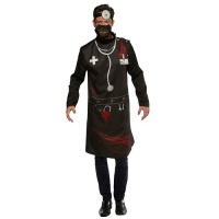 Halloween Scary Horror Doctor Mens Fancy Dress Costume