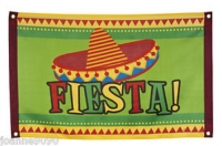 Mexican Fiesta Flag Banner/Decoration