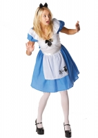 Ladies Disney Alice In Wonderland Costume