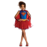 Girls Super Hero Supergirl Tutu Costume