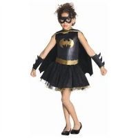Girls Super Hero Batgirl Tutu Costume