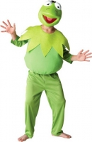 Childrens Kermit The Frog Fancy Dress The Muppets World Book Day Costume