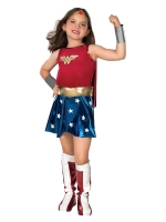 Girls Super Hero Wonder Woman Costume