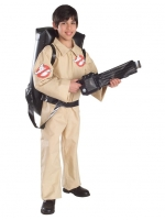 Boys Ghostbusters Fancy Dress Halloween 1980s Costume