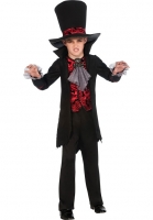 Vampire Lord Boys Dracula Halloween Fancy Dress Costume