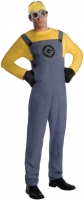 Mens Despicable Me Minion Dave Fancy Dress Costume party outfit