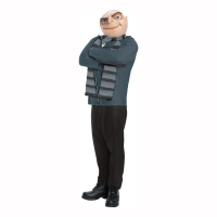 Mens Despicable Me Gru Fancy Dress Costume party outfit