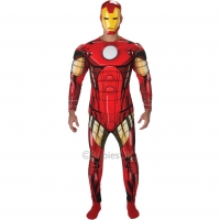 Adult Ironman Deluxe muscle chest