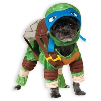 Fancy Dress Leonardo Teenage Mutant Ninja Turtles Dog Costume