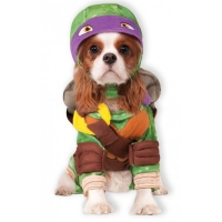 Fancy Dress Denatello Teenage Mutant Ninja Turtles Dog Costume